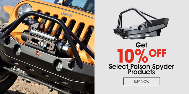 10% Off select Poison Spyder products