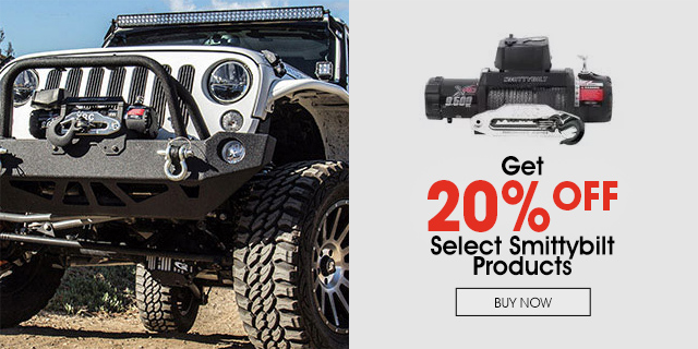 20% Off select Smittybilt items