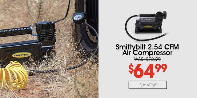 Save 30% instantly on this Smittybilt Air Compressor