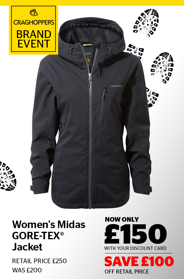 Womens Craghoppers Midas Jacket
