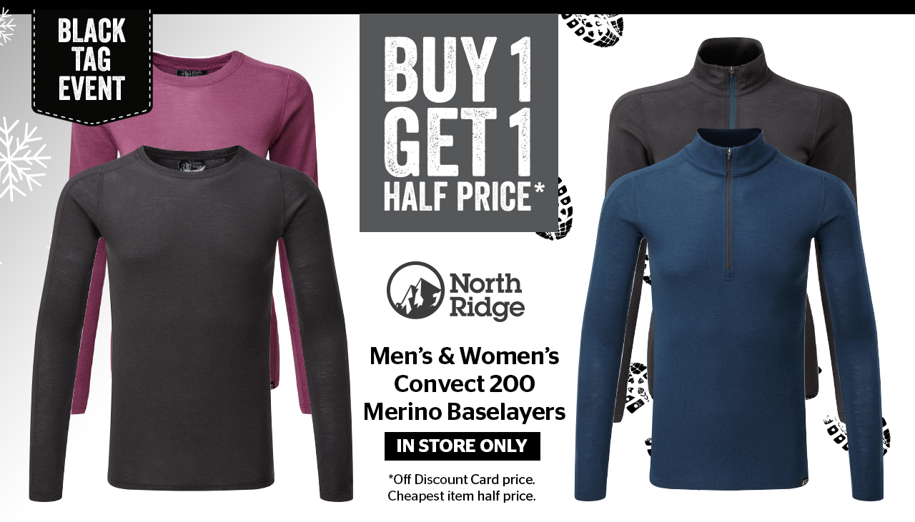 North Ridge Baselayers