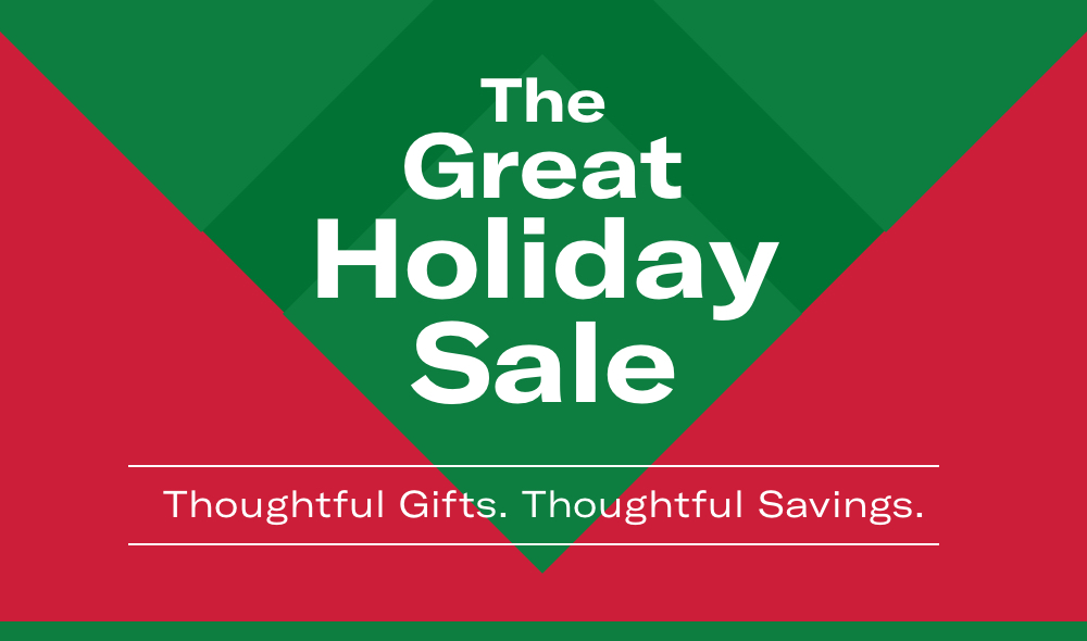 Shop The Great Holiday Sale