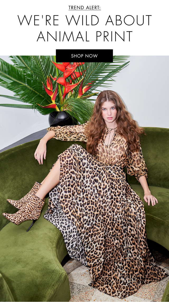 SHOP NOW ANIMAL PRINT