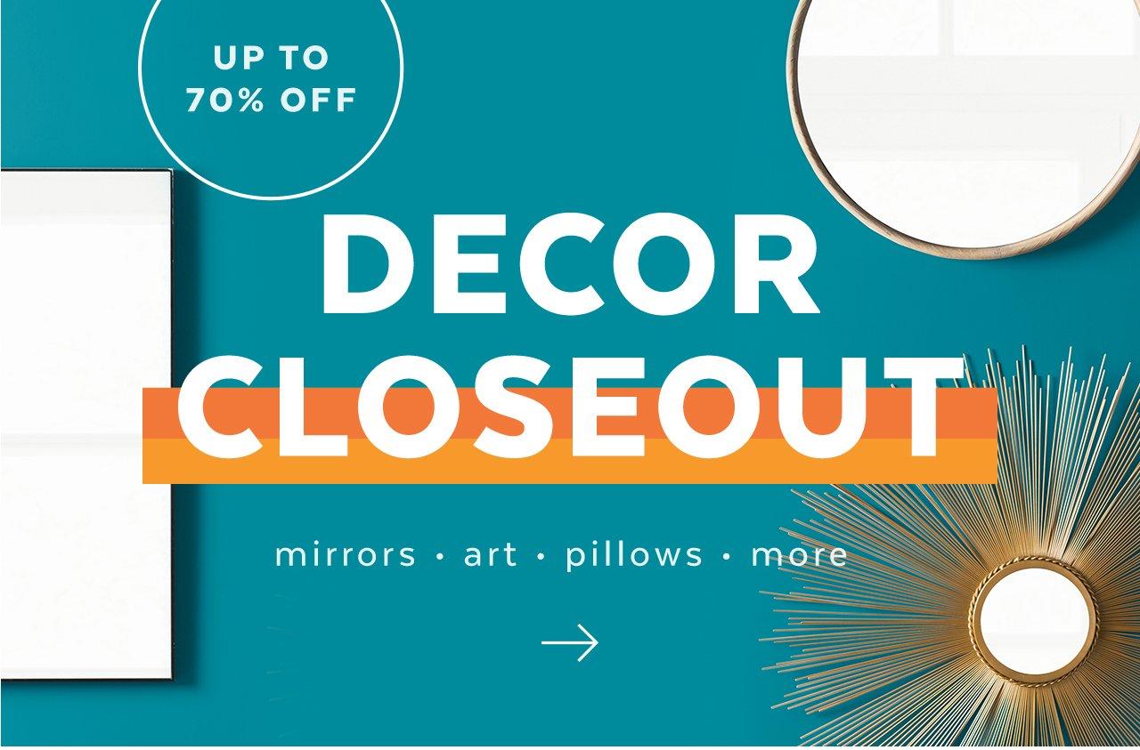 Decorative Accents Closeout