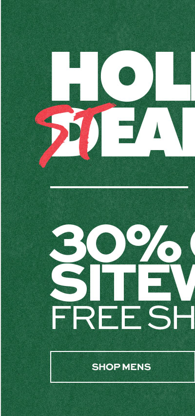 Holiday Steals Up To 30% Off Sitewide - Shop Mens