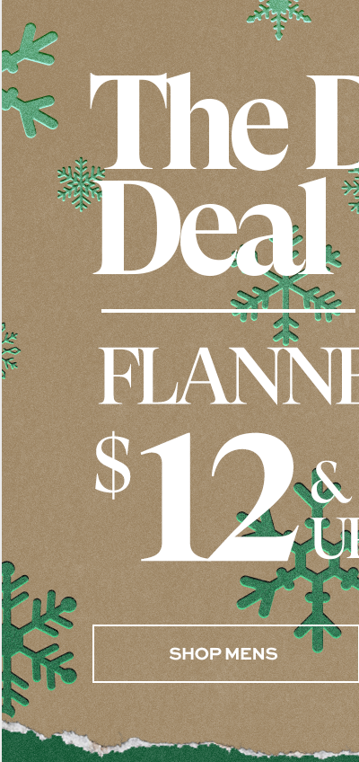 The Daily Deal - Flannels $12 & Up - Shop Mens