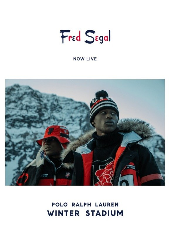 e6c25a285 Fred Segal: Just Dropped ❄️The Polo Ralph Lauren Winter Stadium Collection  #PoloLTD | Milled