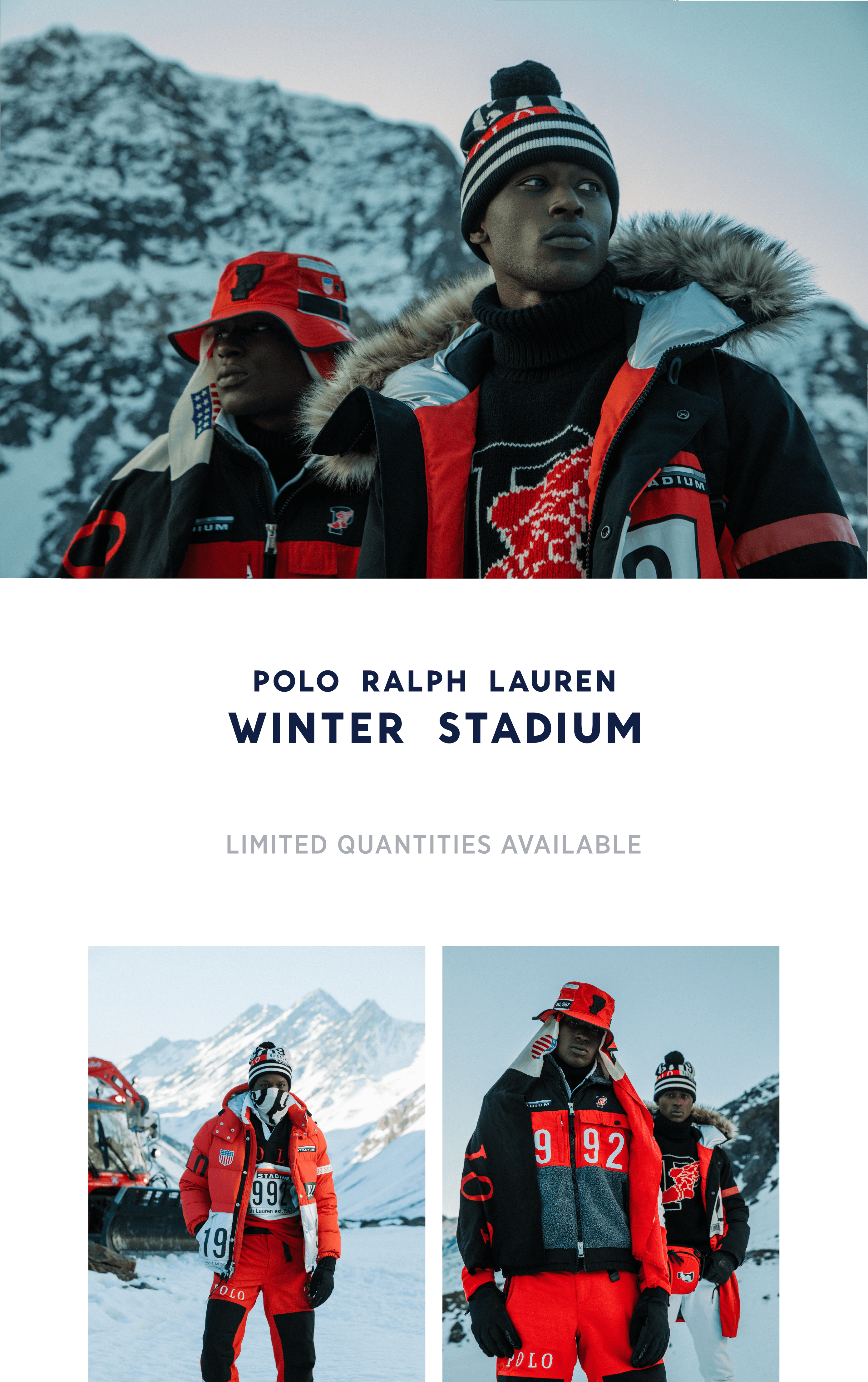 26c8a07b8 Fred Segal: Just Dropped ❄️The Polo Ralph Lauren Winter Stadium ...
