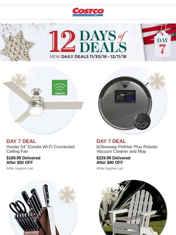 Costo On The 7th Day Of Deals Costco Has For You Open