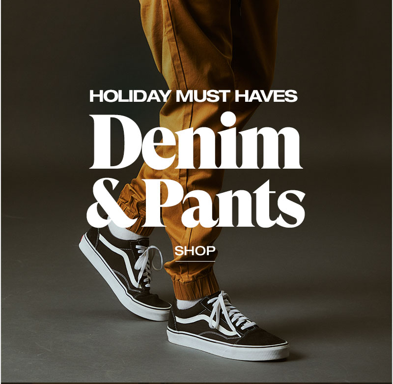 holiday must have denim and pants - Shop