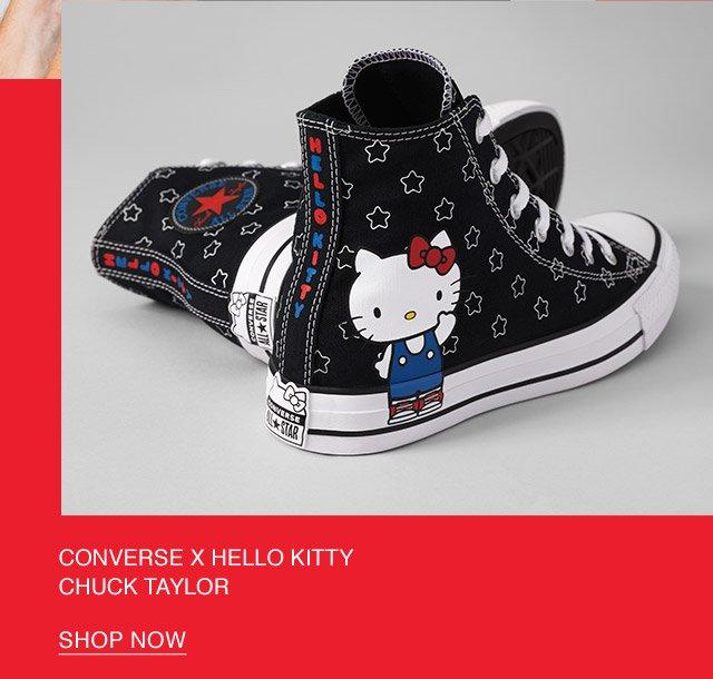 Shop Now: Converse x Hello Kitty Chuck Taylor