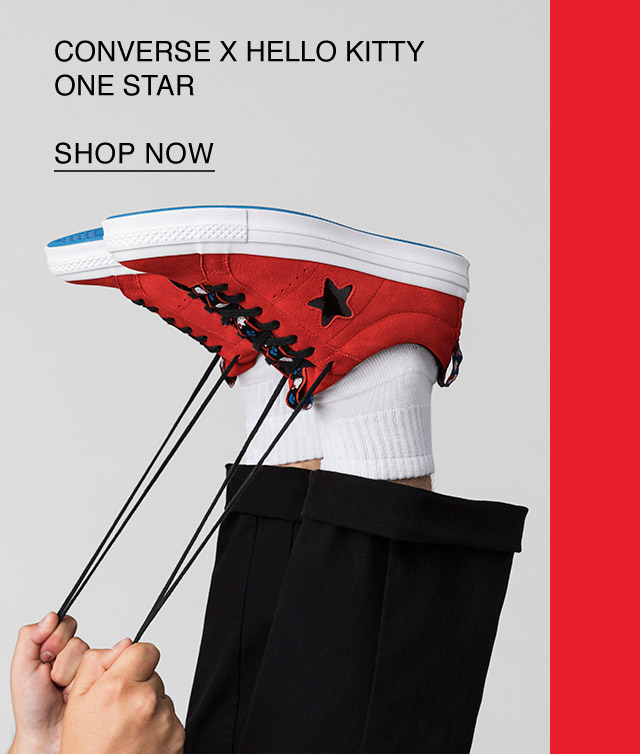 Shop Now: Converse x Hello Kitty One Star