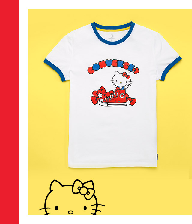 Learn More: Converse x Hello Kitty Ringer Tee