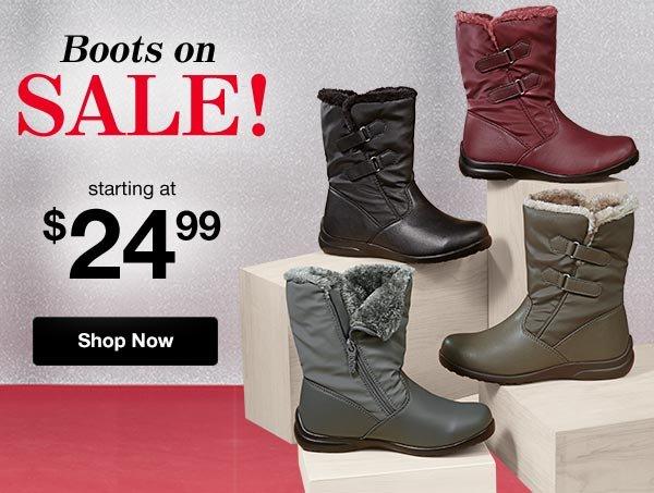 Shop Women's Boots!