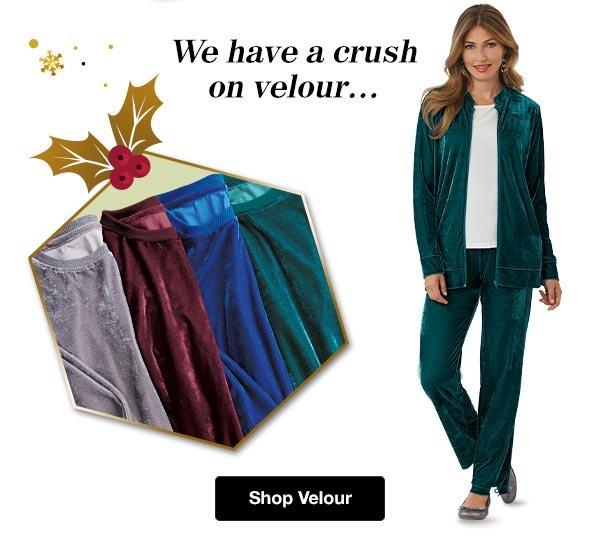 Shop Women's Velour!