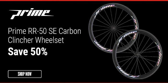 Prime RR-50 SE Carbon Clincher Wheelset