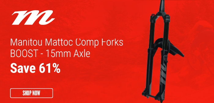 Manitou Mattoc Comp Forks BOOST - 15mm Axle