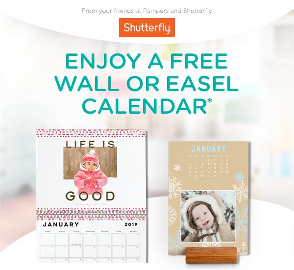 Pampers Showcase Precious Memories In A Free Calendar Milled