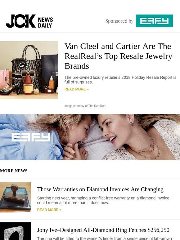 57d00aeb7 JCK: Van Cleef and Cartier Are The RealReal's Top Resale Jewelry Brands |  Milled