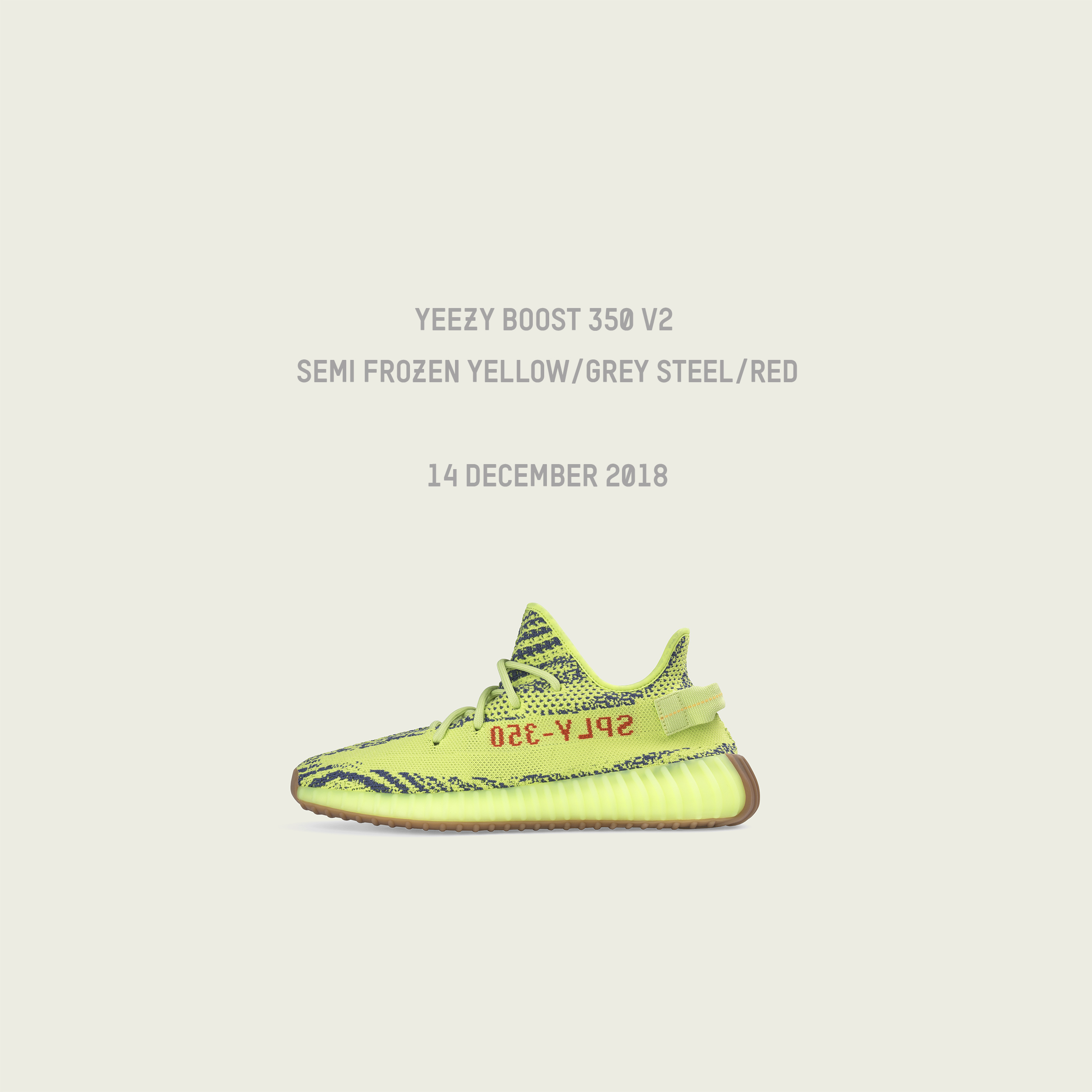 c8542530d NEXT RELEASE YEEZY 350 V2 SEMI FROZEN YELLOW. Kanye West and Adidas ...