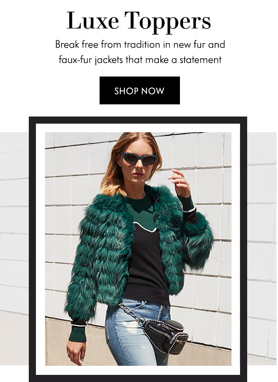 Fur & Faux Fur Jackets
