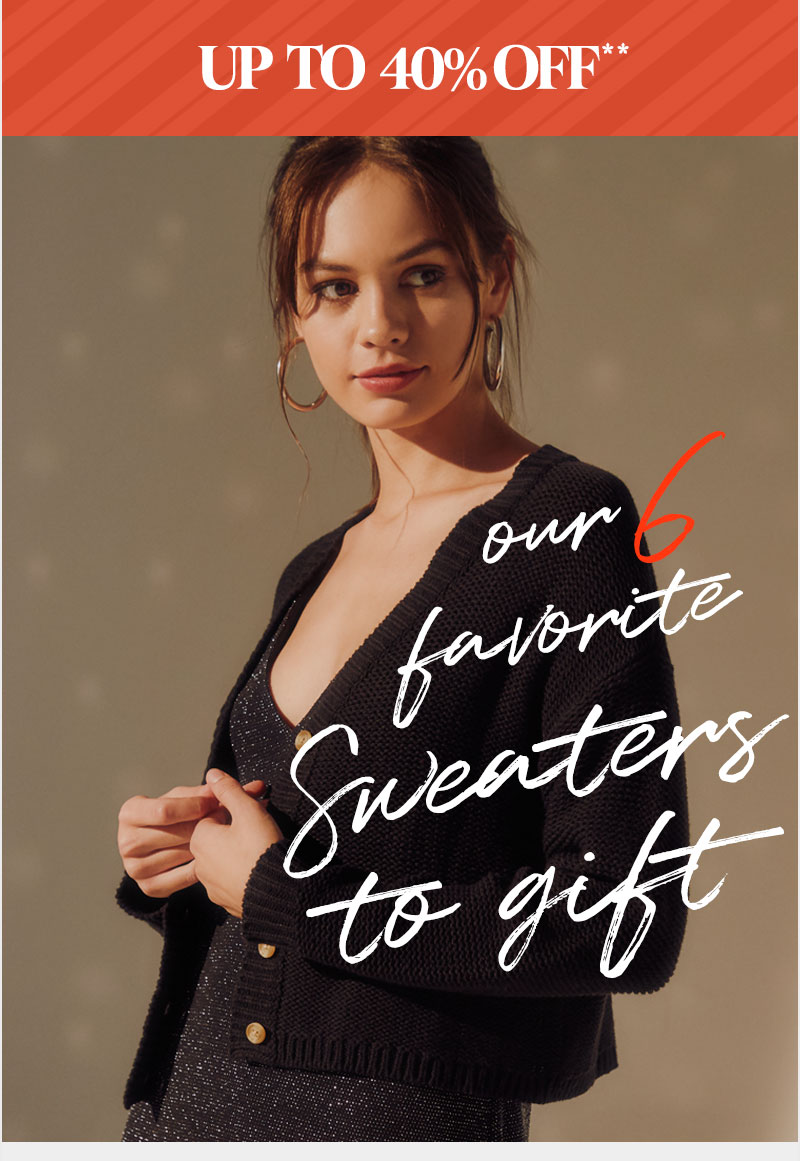 sweatets up to 40% off** - Shop