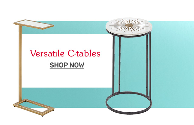 Shop versatile c-tables.