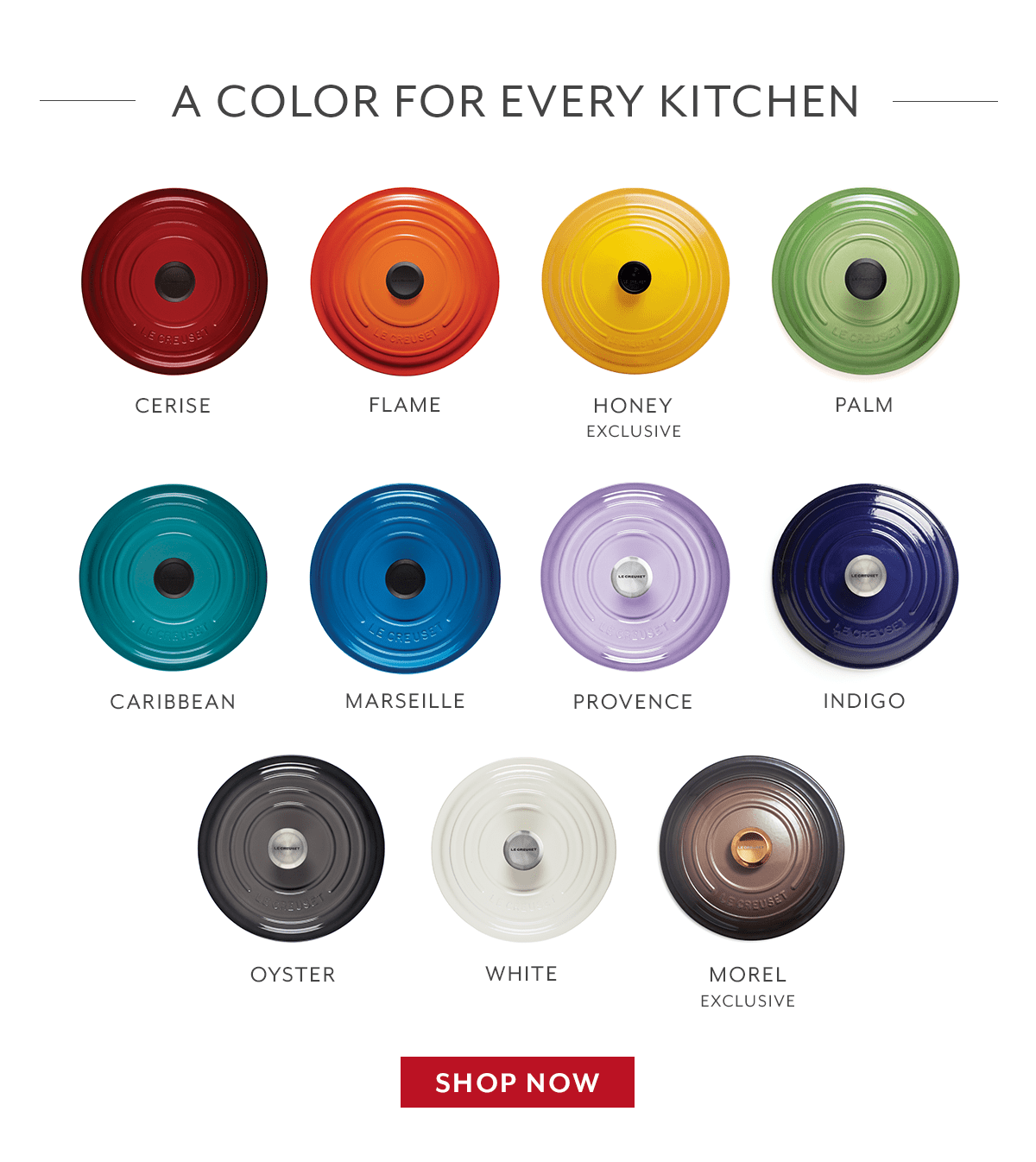 A Color for Every Kitchen