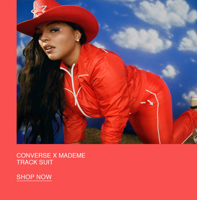 Shop Now: Converse x MadeMe Tracksuit