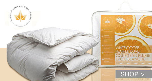 WHITE GOOSE DOWN DUVETS & MORE