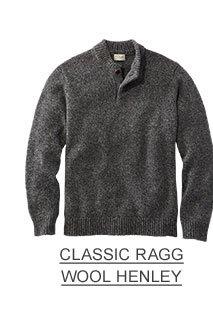 Classic Ragg Wool Henley