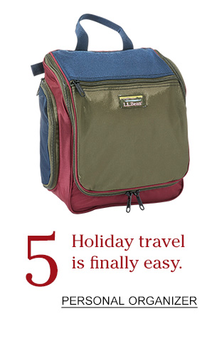 6 Holiday travel is finally easy.