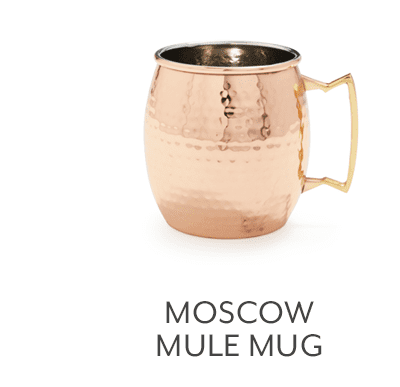 Moscow Mule Hammered Copper Mug