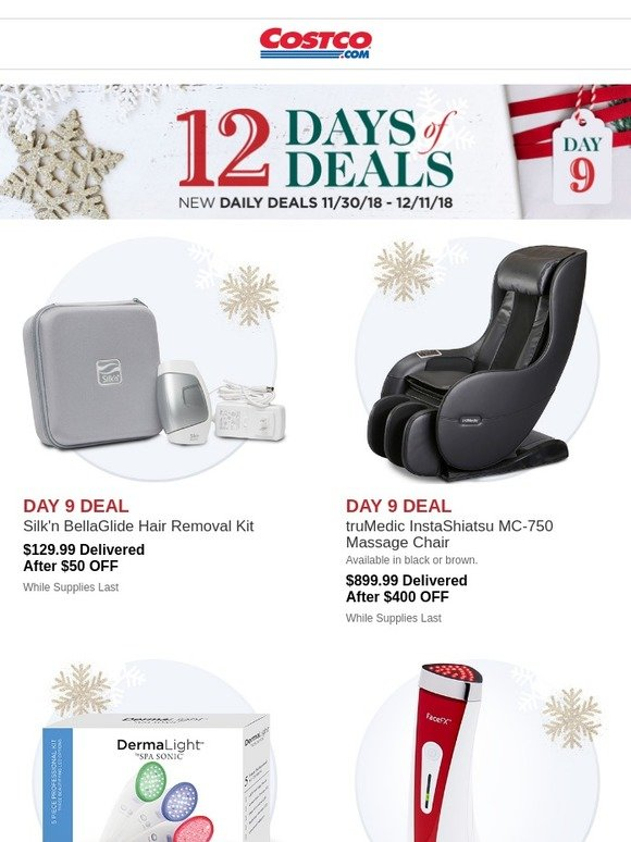 Costo: On the 9th Day of Deals, Costco Has For You....Open