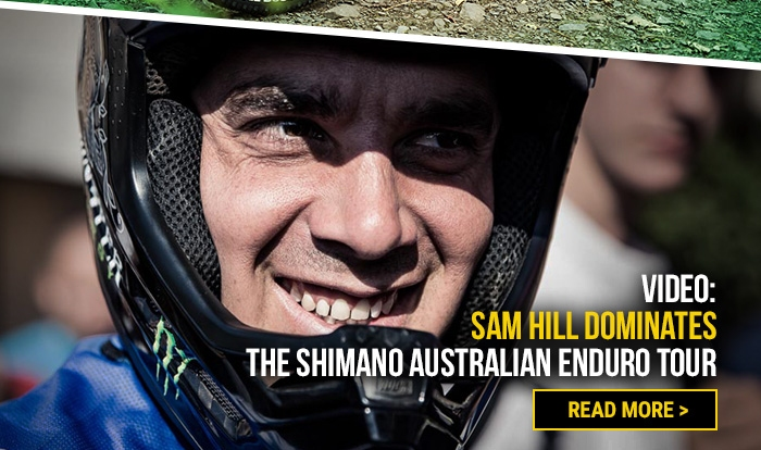 Video: Sam Hill dominates the Shimano Australian Enduro Tour