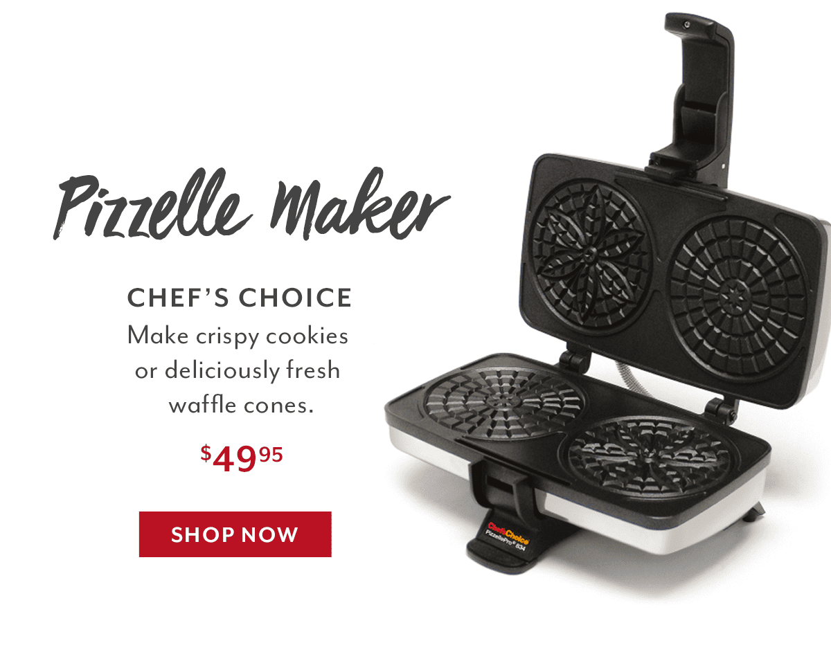 PizzellePro Toscano Twin Pizzelle Maker