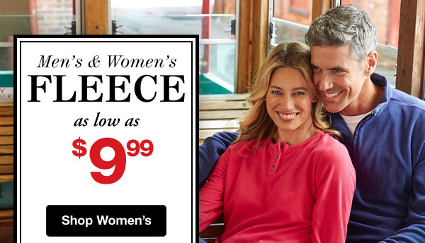 Shop Women's Fleece Sale!