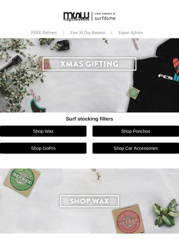 Magicseaweed shop