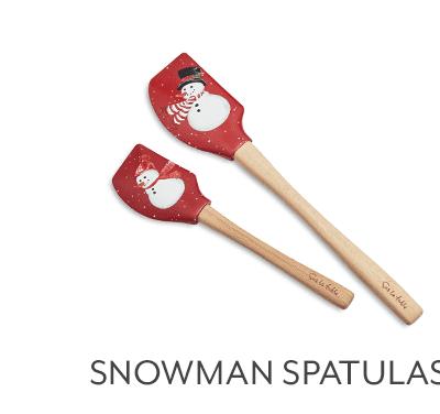 Snowman Spatulas