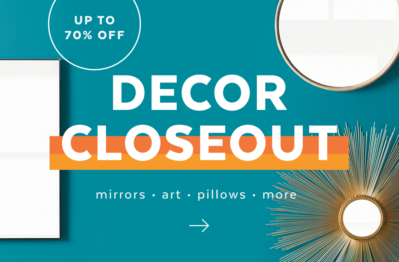 Decorative Accents Closeout