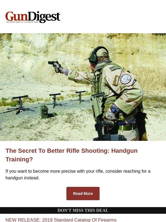 gundigeststore com: The Secret To Better Rifle Shooting