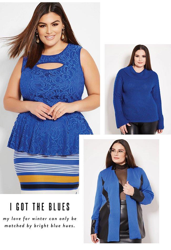 I got the blues - Shop Now