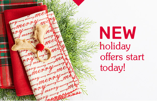 Shop our new holiday offers.