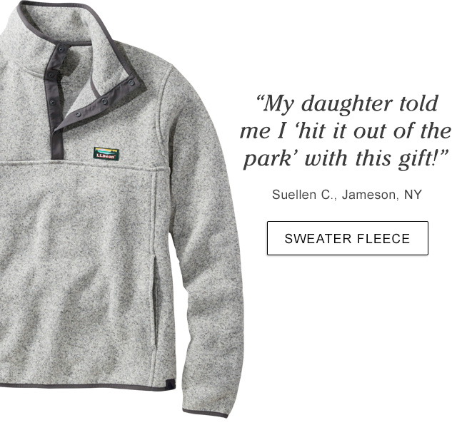 """""""My daughter told me I ?hit it out of the park' with this gift!"""" Suellen C., Jameson, NY."""