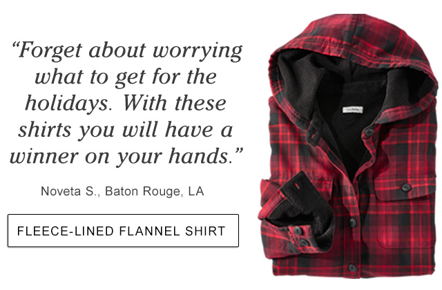 """""""Forget about worrying what to get for the holidays. With these shirts you will have a winner on your hands."""" Noveta S., Baton Rouge, LA."""