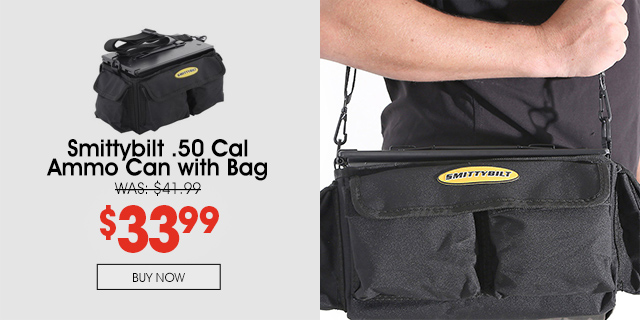 20% Off Smittybilt Ammo Can with Bag