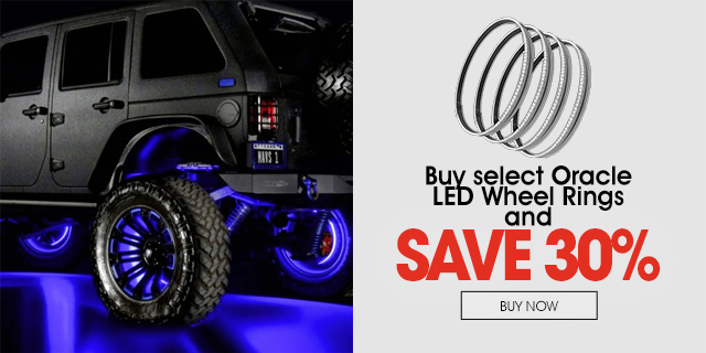 Save 30% on select Oracle Wheel Rings