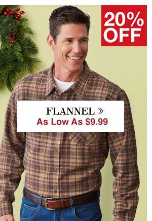 Shop Men's Flannel!