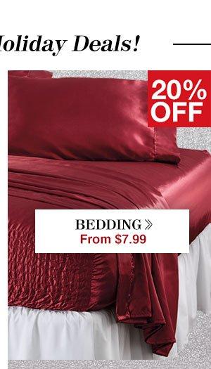 Shop Bedding!