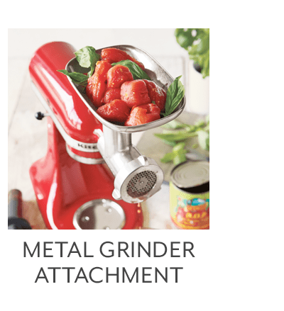 Food Grinder Attachment